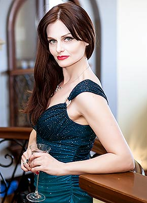 Responsible bride Oksana from San Francisco (USA), 46 yo, hair color brown-haired