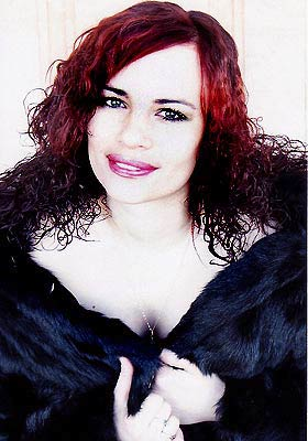 Energetic lady Svetlana from Kalinovka (Ukraine), 40 yo, hair color red-haired