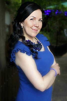 Open bride Elena from Vinnitsa (Ukraine), 51 yo, hair color brunette
