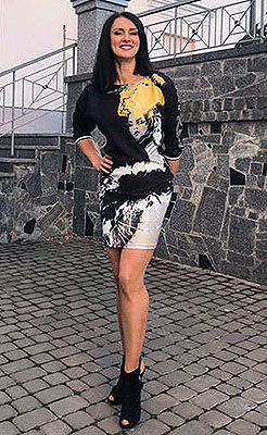 Open bride Ol'ga from Vinnitsa (Ukraine), 45 yo, hair color brunette