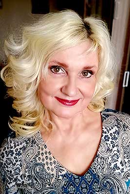 Kind lady Alena from Tver (Russia), 54 yo, hair color blonde