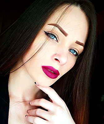 Positive girl Mariya from Odessa (Ukraine), 27 yo, hair color black