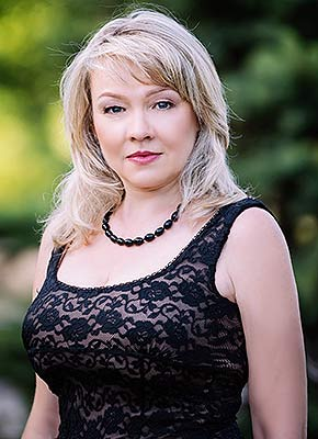 Affectionate woman Natal'ya from Zaporozhye (Ukraine), 53 yo, hair color blonde