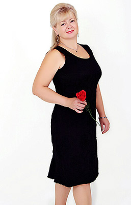 Merry woman Valentina from Zaporozhye (Ukraine), 60 yo, hair color blonde