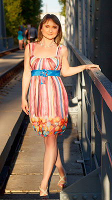Sympathetic bride Svetlana from Zaporozhye (Ukraine), 50 yo, hair color brown