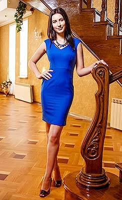 Open girl Anastasiya from Zaporozhye (Ukraine), 26 yo, hair color brunette