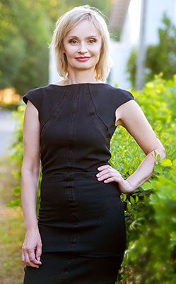 Sociable bride Irina from Zaporozhye (Ukraine), 50 yo, hair color blonde
