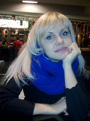 Thankful lady Tat'yana from Zaporozhye (Ukraine), 40 yo, hair color blonde