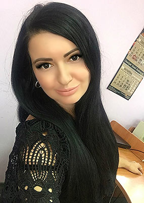 Happy lady Tat'yana from Sumy (Ukraine), 34 yo, hair color black