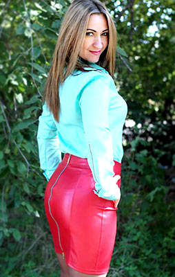 Active woman Marina from Izmail (Ukraine), 37 yo, hair color chestnut