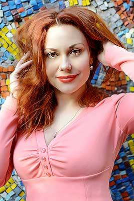 Funny lady Elena from Zhitomir (Ukraine), 41 yo, hair color red-haired